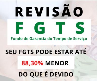 REVISÃO DO FGTS DE 1999 A 2013